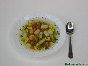 Spargelsuppe mit Mischgem&#252;se